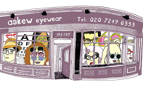 Askew Eyewear in Stoke Newington